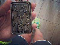 Medal z pierwszego maratonu