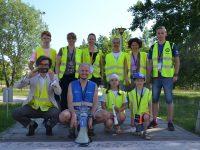 Koordynator i wolontariusze parkrun Warszawa-Ursynów